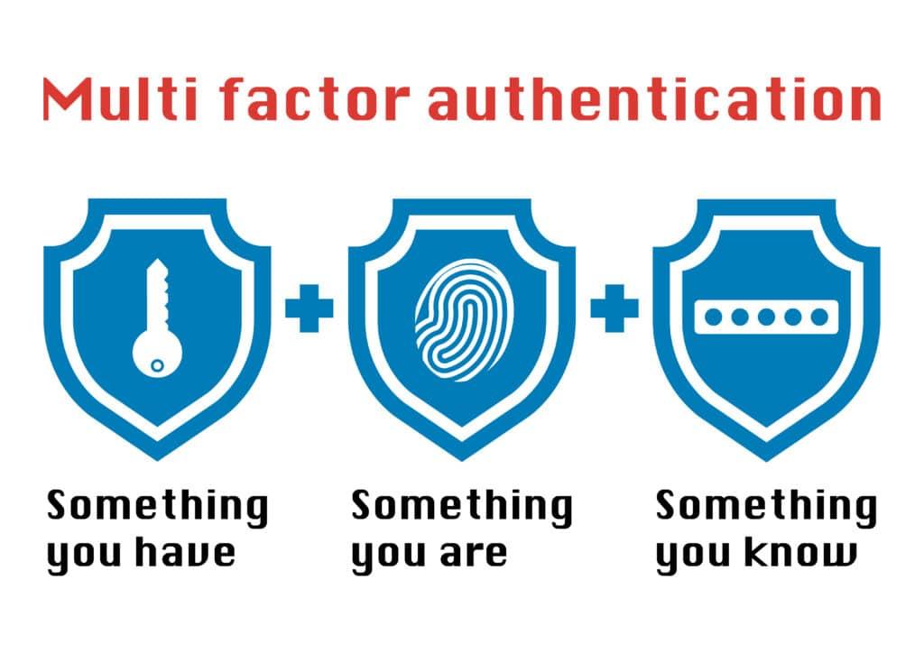 Mult-factor authentication
